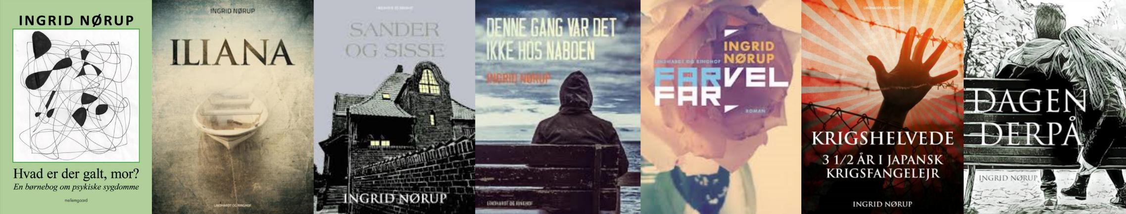 Forfatter Ingrid Nørup